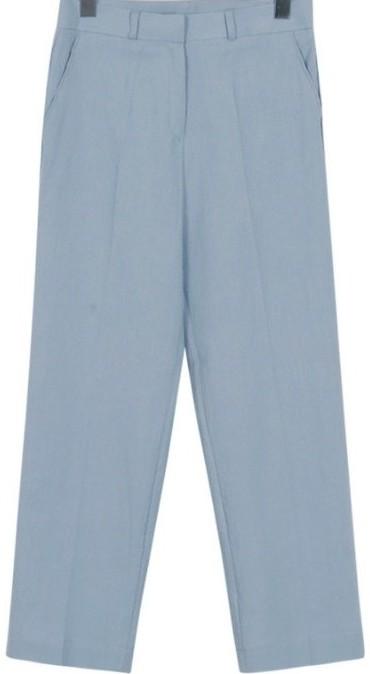 Bio linen crop slacks_B (size : S,M,L)