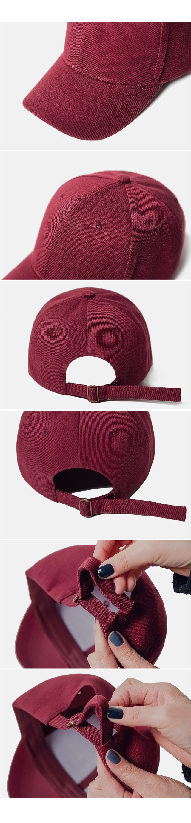 1+1 small-face ballcap