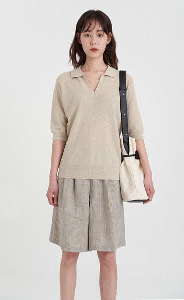 frank collar knit (5colors)