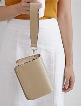 Enamel mini two-way bag_H (size : one)