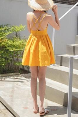 Beauty strap dress