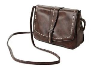 stitch point square mini bag (2colors)