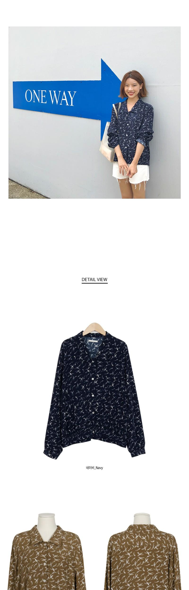 Vacance blouson blouse_S (size : free)