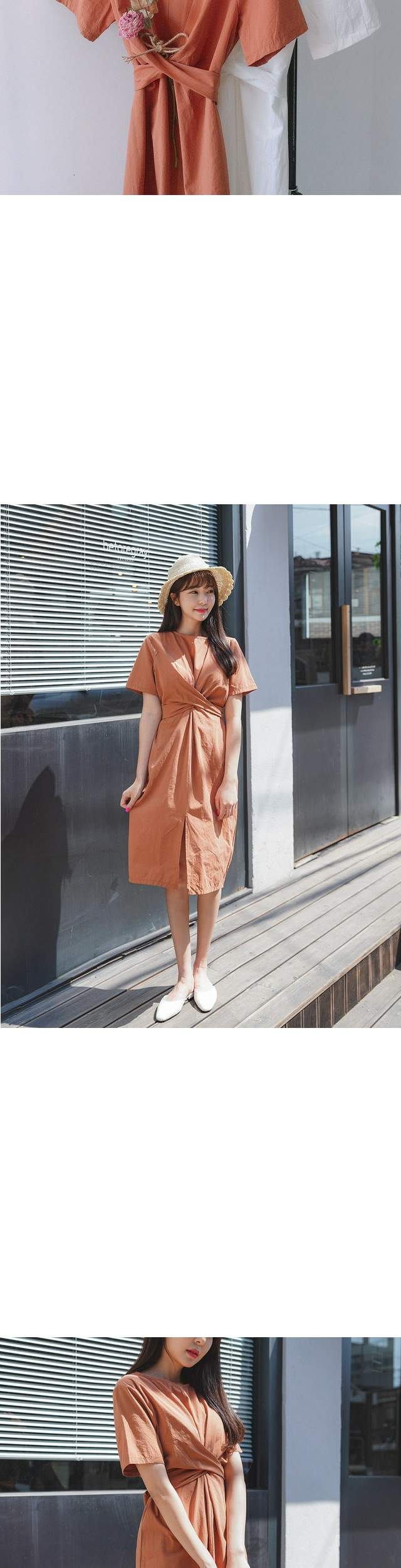 Melo twist dress
