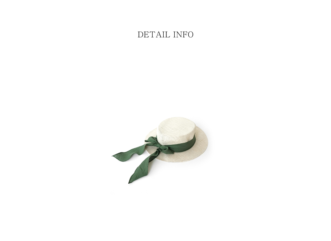 wide ribbon boater hat