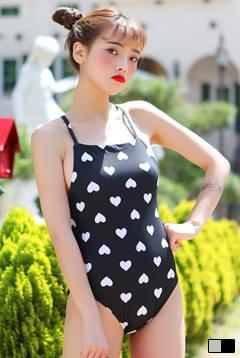 Heart Heart Monokini