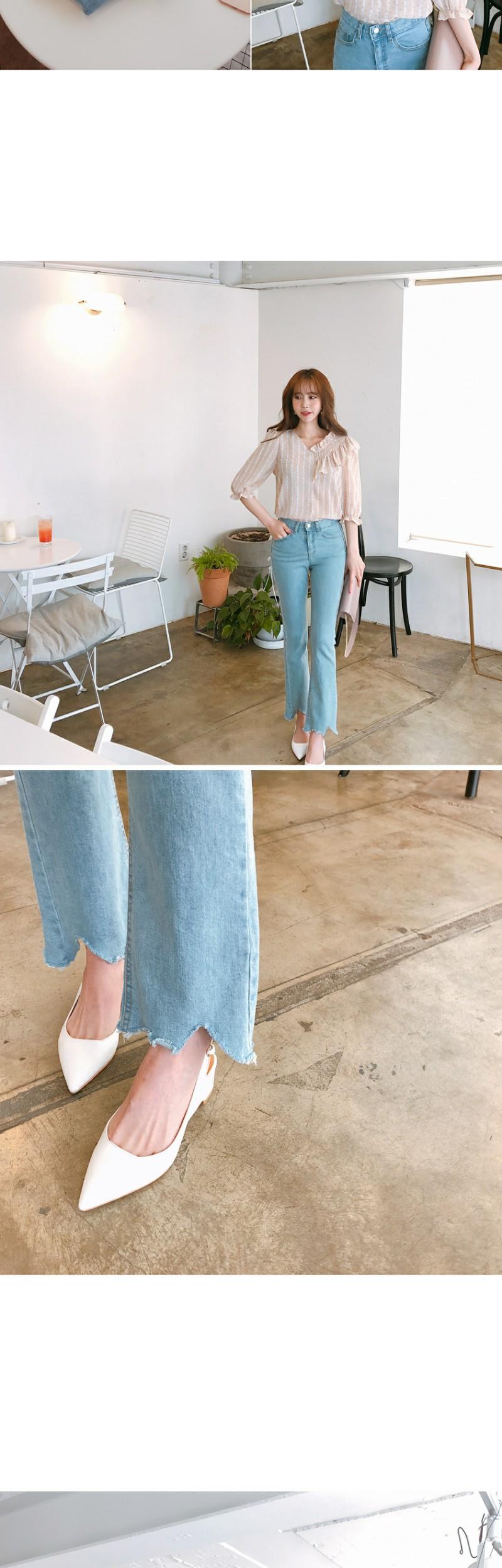 Wave cutting pants