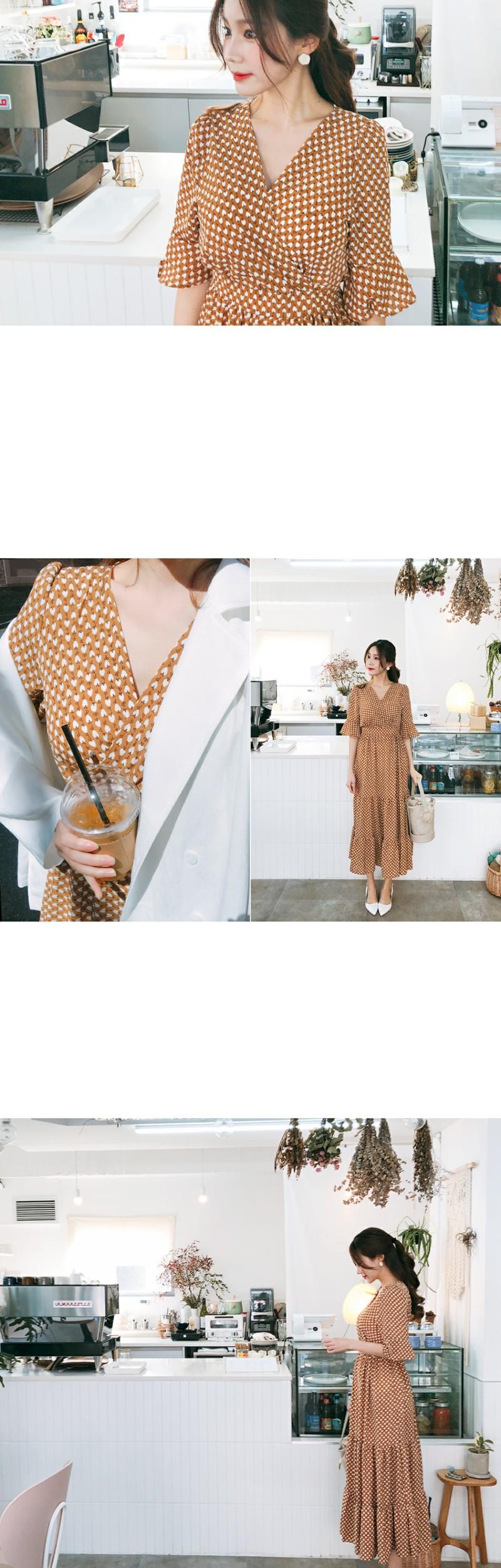 Aura cane dress