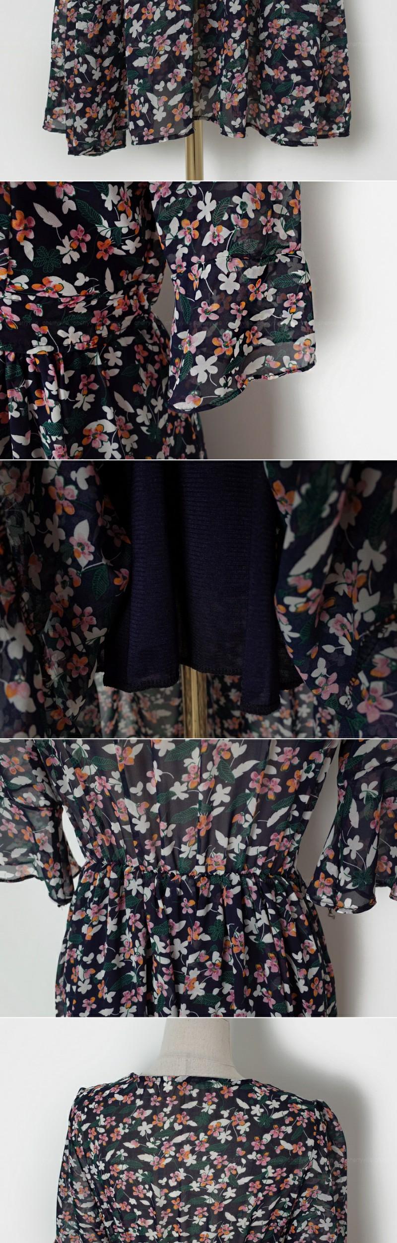 Slightly see-through dress