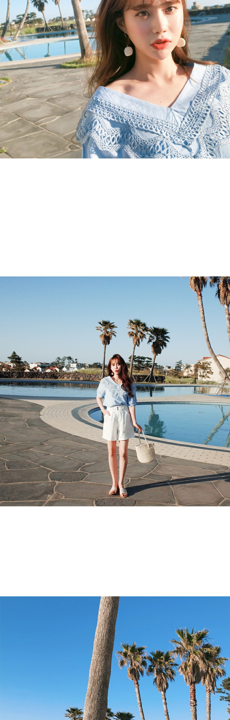 Cool lace blouse