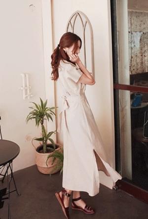 Stylish linen dress