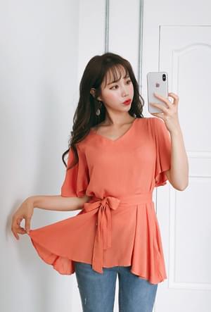 Fruit juice mitt blouse