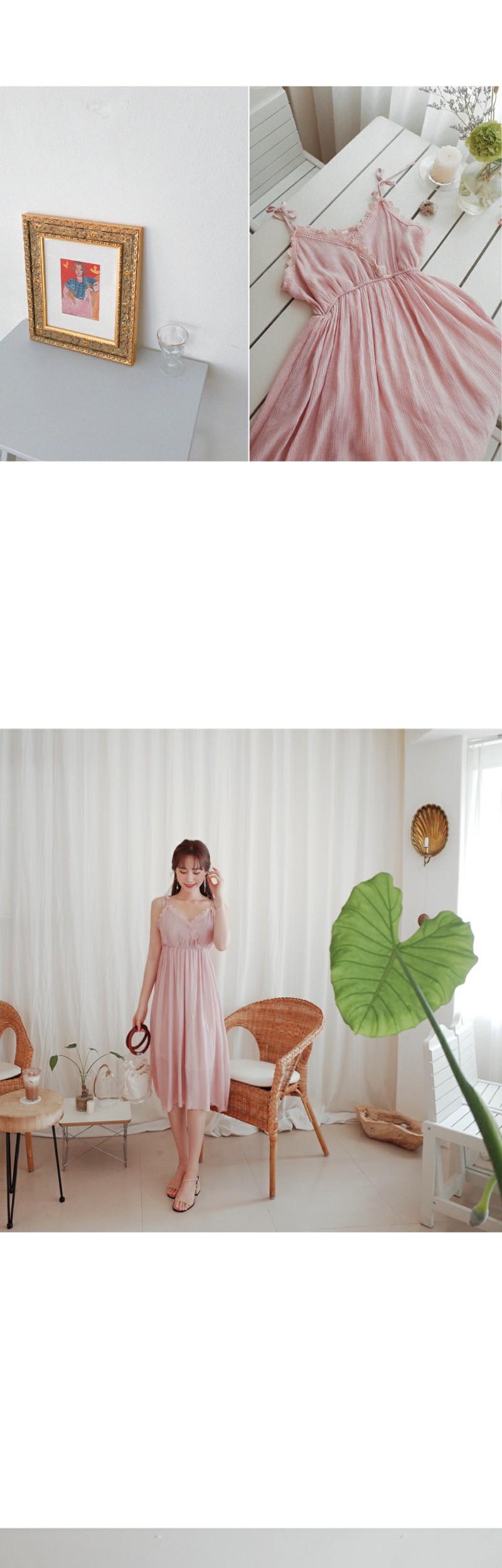 Cheerful lace dress