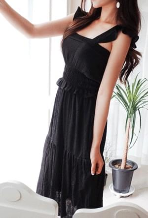 Wing Long Dress
