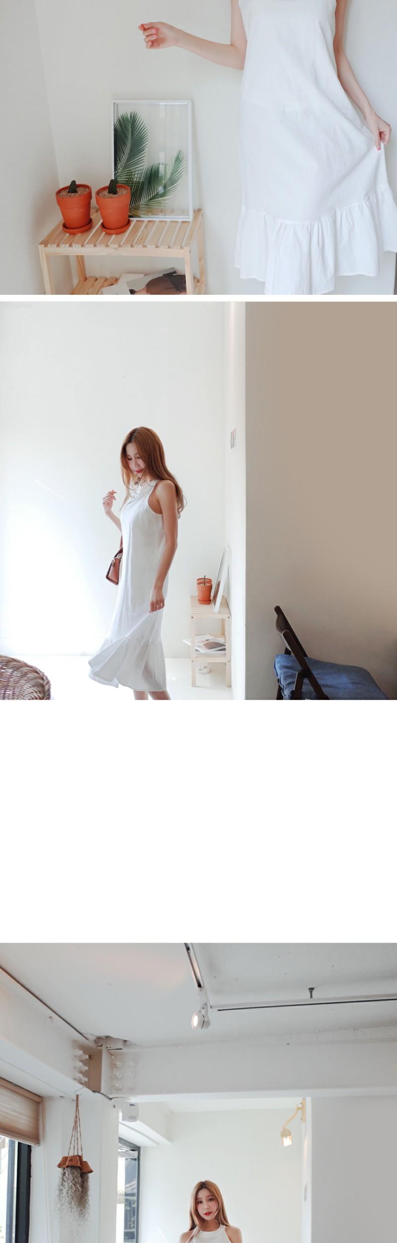 Neckline Holter Dress
