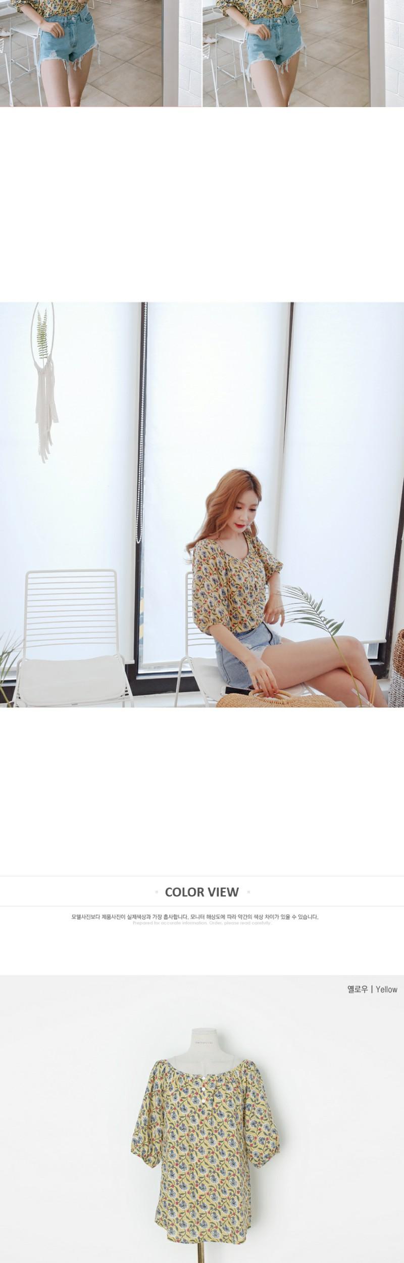 Serenity in love blouse