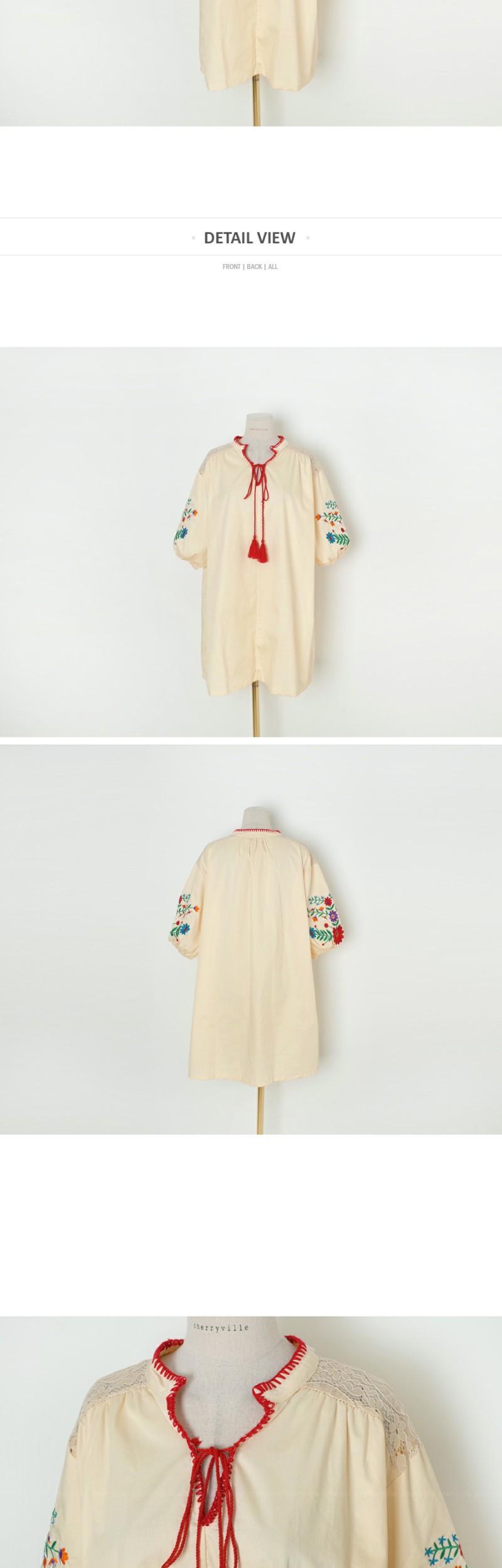 Ethnic Balloon Dress