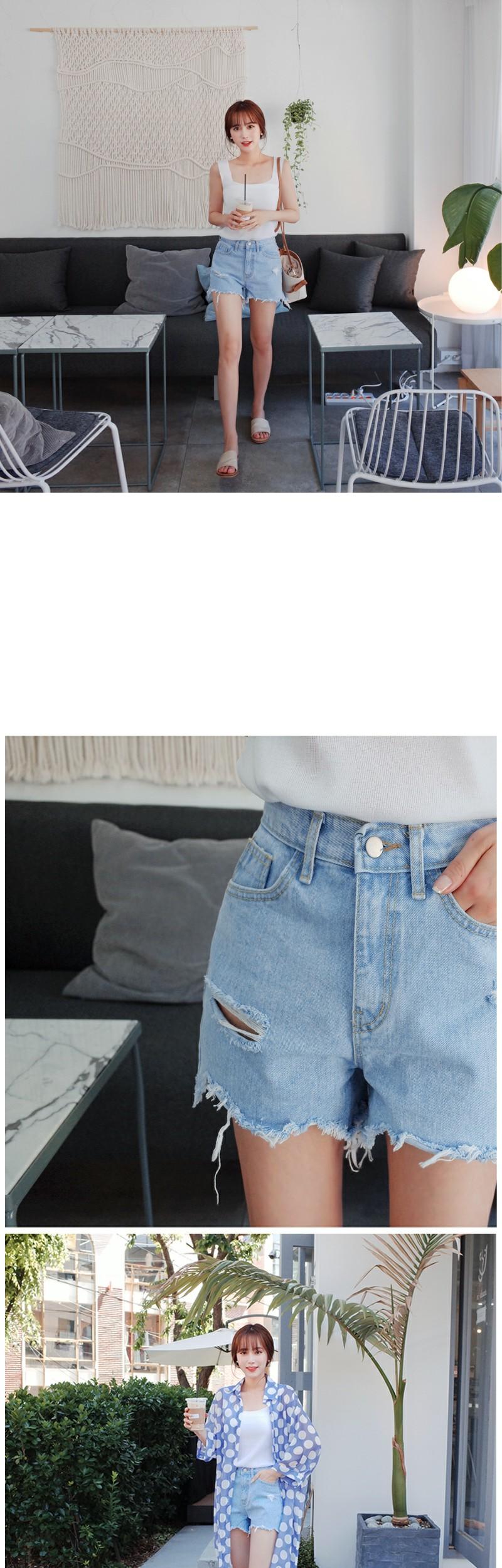 Light damage pants
