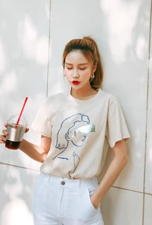 Point Drawing Tee
