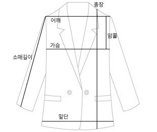 french linen half jacket