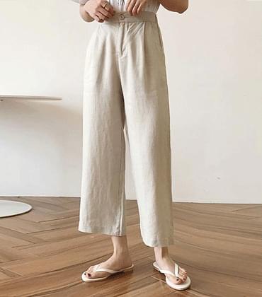 Yuki linen pants