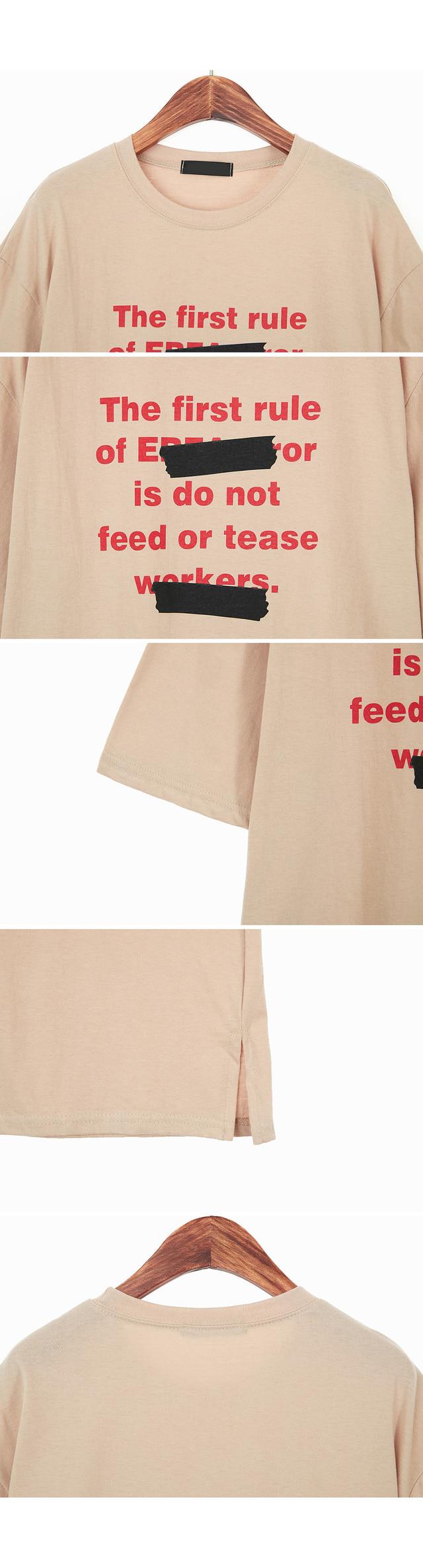 Bar Original Lettering T-shirt