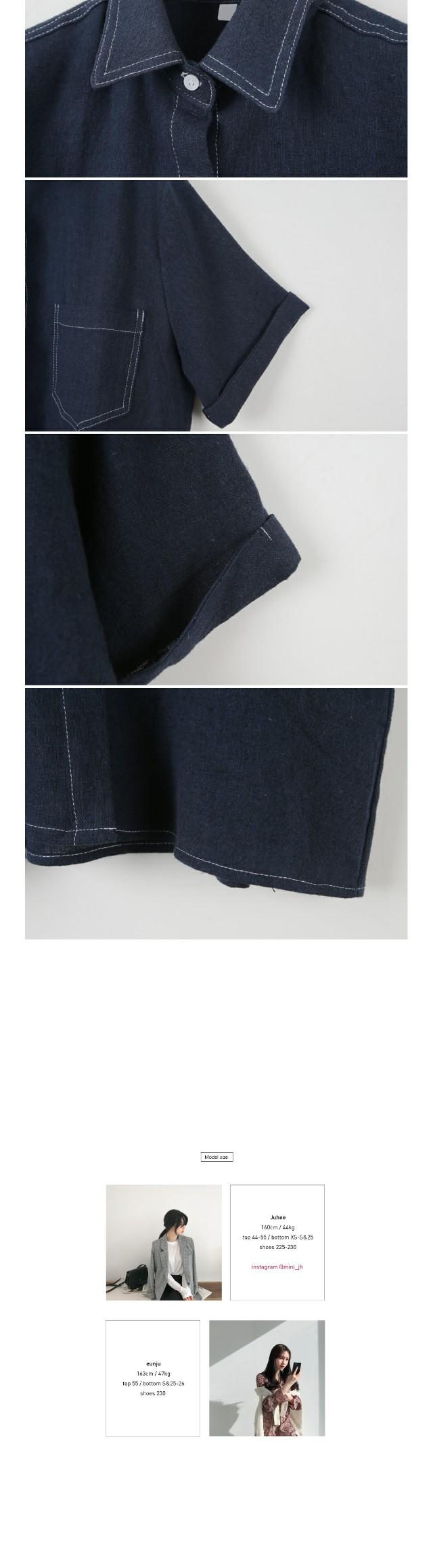 Jace Linen Short Sleeve Southern