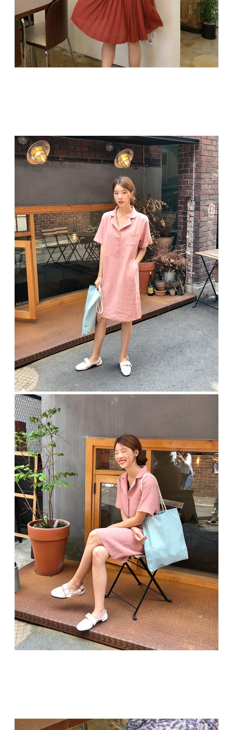 Megan buckle sandals_H (size : 230,235,240,245,250)