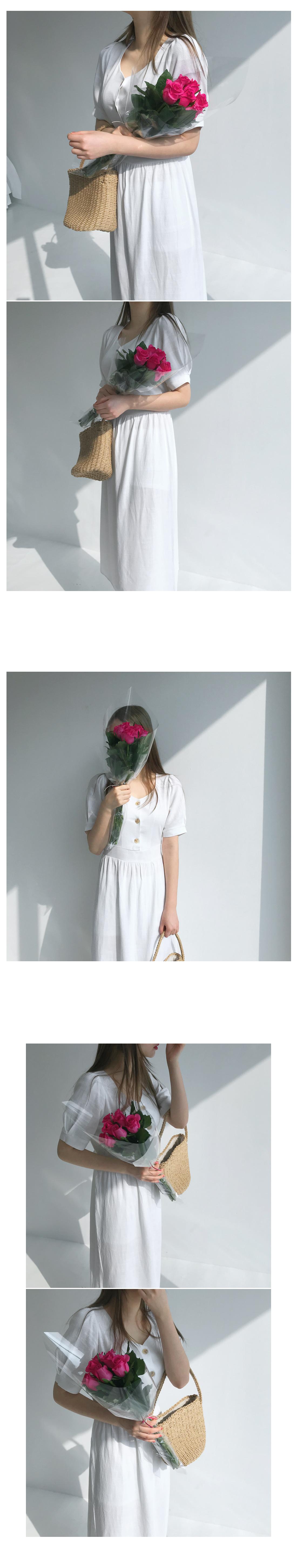 Gully linen long dress