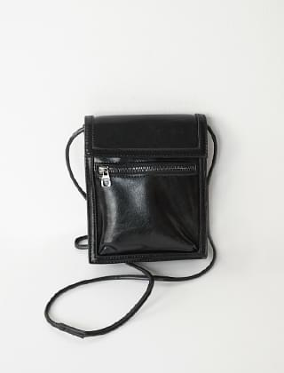 little leather two-way bag
