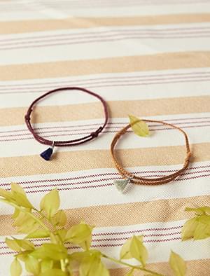 basic tassel bracelet