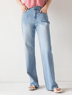 unique maxi denim pants
