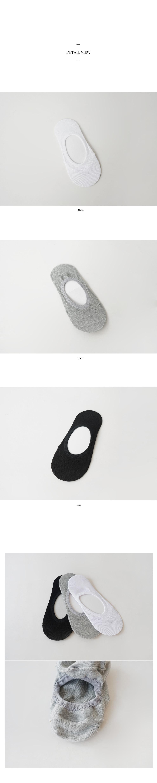 Cotton fake socks (3colors)