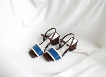 Color Mary Jane Sandals