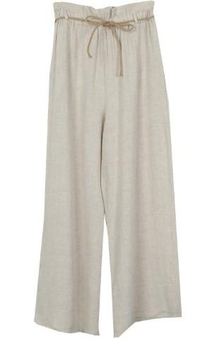 Adel Linen Wide Pants