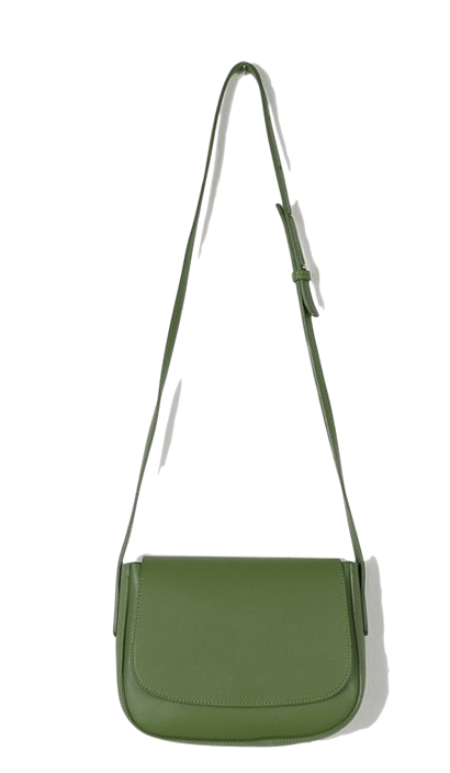 Color line leather bag