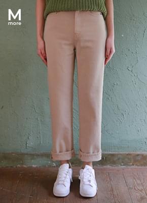 Boyfit cotton pants