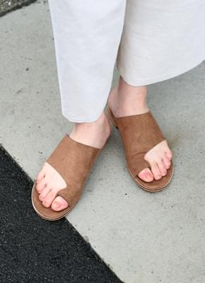 Summer Suede Ring Slippers