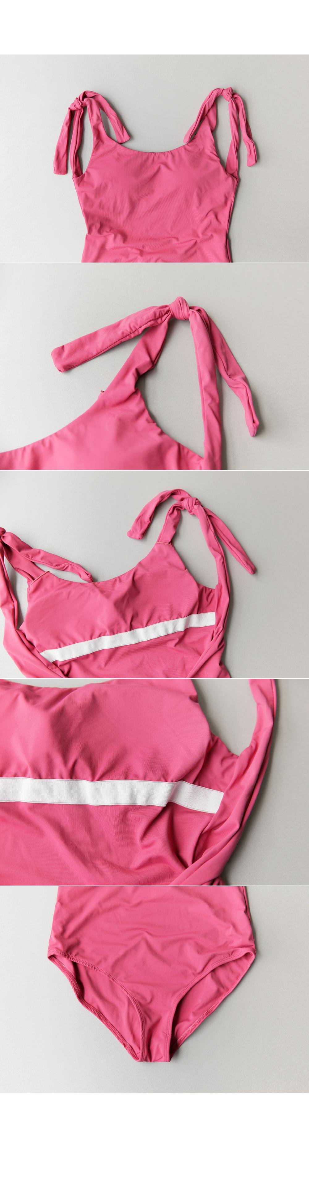 Shoulder ribbon bikini