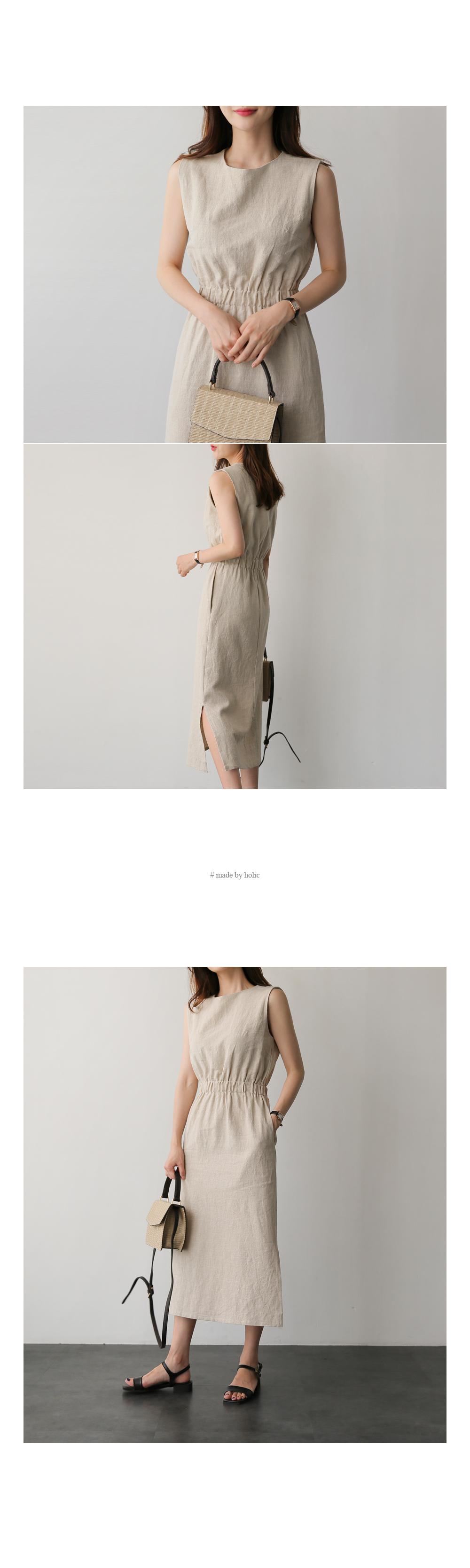 Linen top long ops