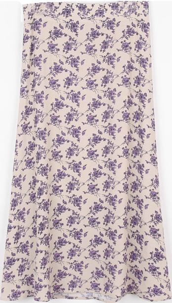 Marlla Flower Long Skirt
