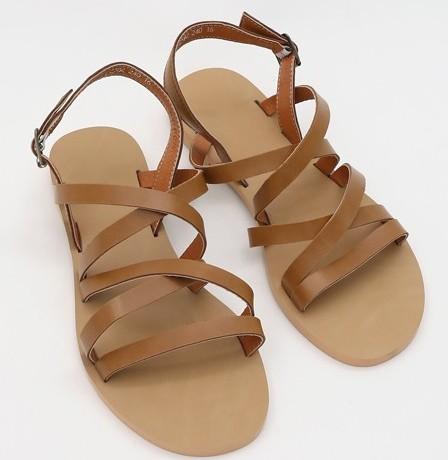 Add instep strap sandals