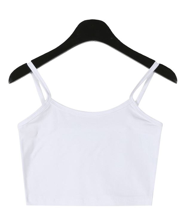 Crop inner sleeveless