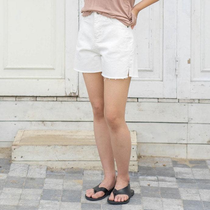 Side short pants
