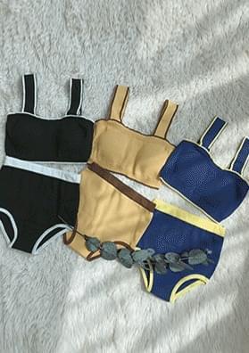 Tachini - Colored knit bikini