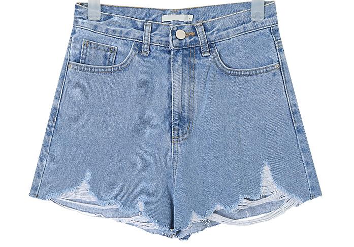 vintage detail half pants (s, m)