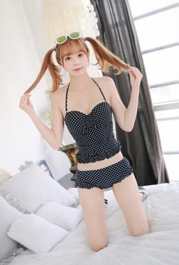 Dot Frill Bikini (bk018)