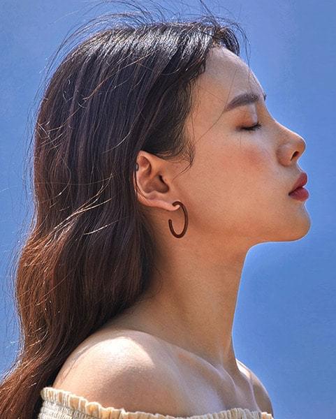minor round earring