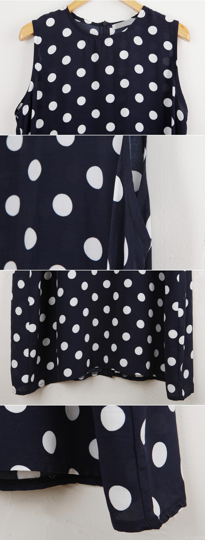 Summer dot dress