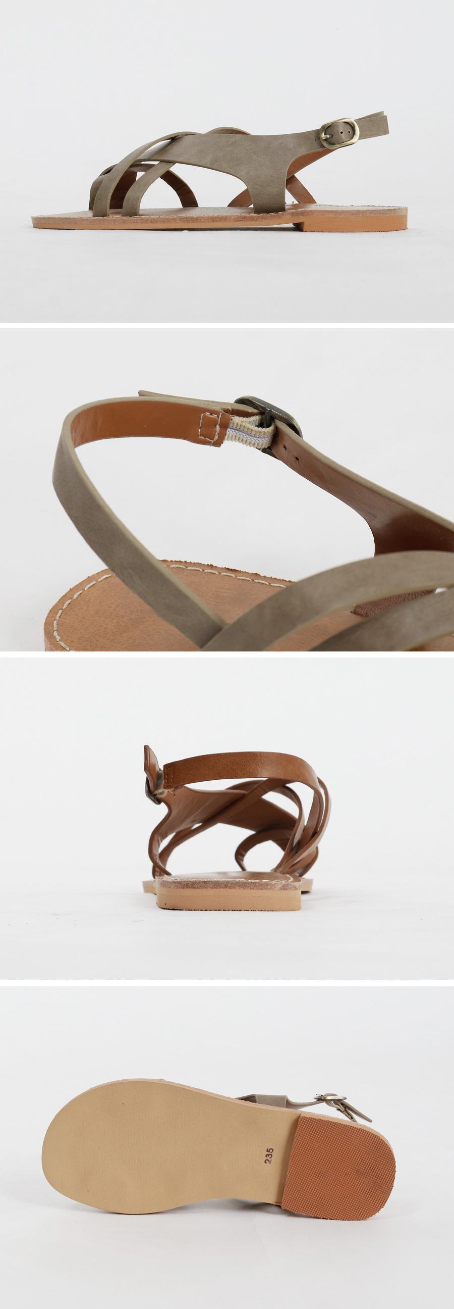 Spider strap sandal_M (size : 225,230,235,240,245,250)